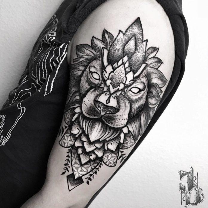 18580136 103386513582252 140882907358035968 n - 53 Tatouages Lion pour Femme