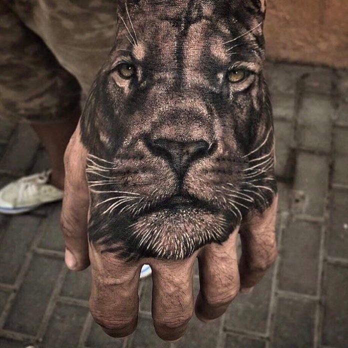22582725 734840133377018 6895450125485735936 n1 - Top 100 des Tatouages Lion pour Homme