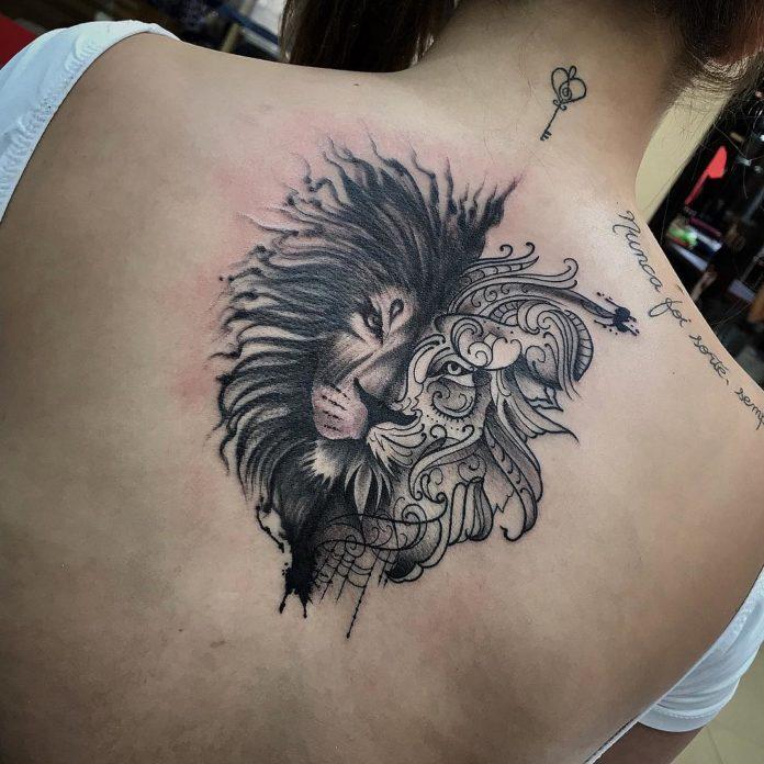 24332334 179014486016168 2127436059217231872 n - 53 Tatouages Lion pour Femme