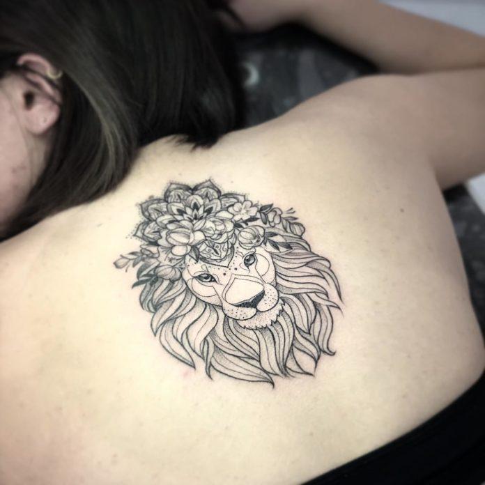 25037304 1419779281478722 5661924308209893376 n - 53 Tatouages Lion pour Femme