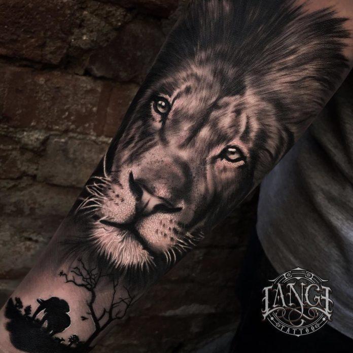 27576385 752074291668350 6795178388769210368 n - Top 100 des Tatouages Lion pour Homme