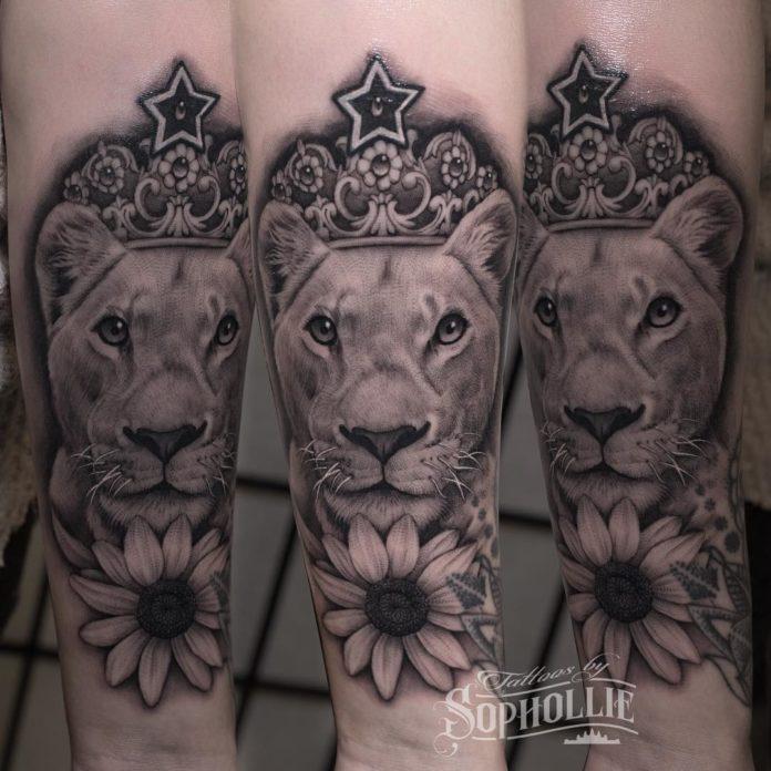 27891793 192278544855341 6490792793781305344 n - 53 Tatouages Lion pour Femme