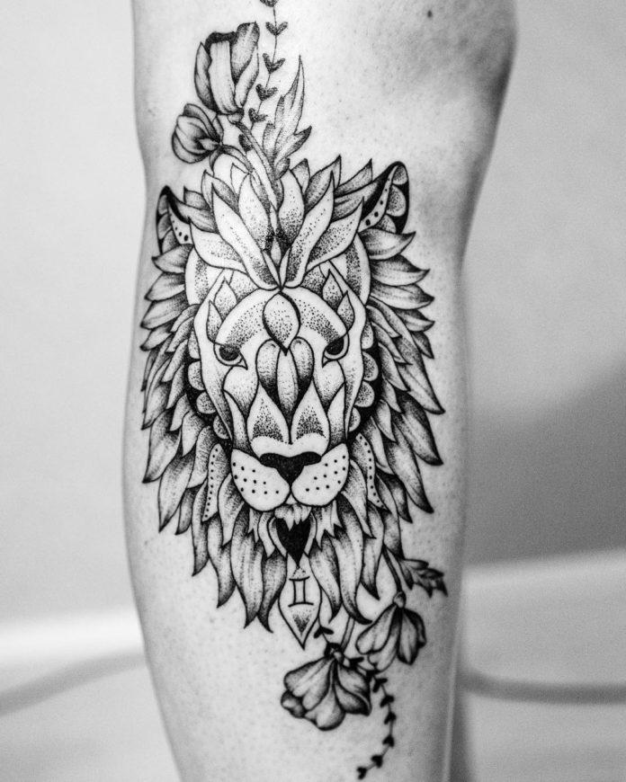29403108 1597673193603595 919780002491269120 n - 53 Tatouages Lion pour Femme