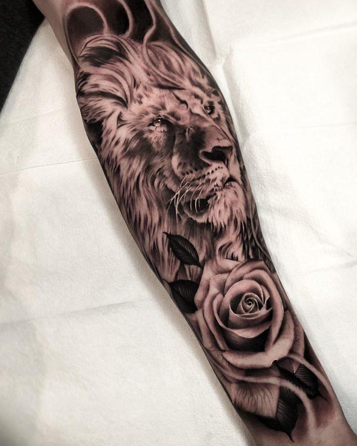 32212393 468642863573644 6753464962015821824 n - Top 100 des Tatouages Lion pour Homme