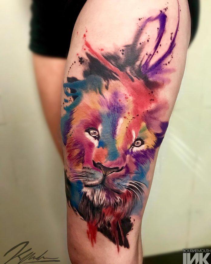 36516433 217168878835929 8687058727573913600 n - 53 Tatouages Lion pour Femme
