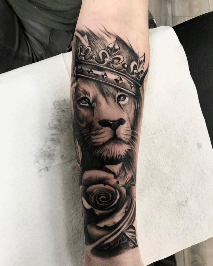 46737001 502119636944744 4499894486707270145 n - 53 Tatouages Lion pour Femme