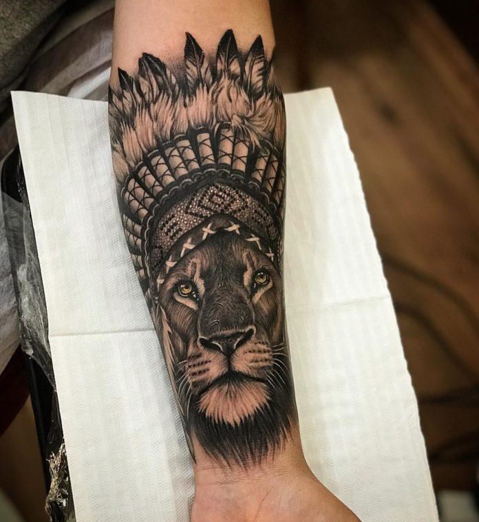47089126 532991703837081 2237611067672288710 n - Top 100 des Tatouages Lion pour Homme