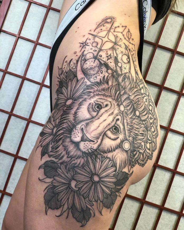49989915 363181714473063 5049000657244301092 n - 53 Tatouages Lion pour Femme