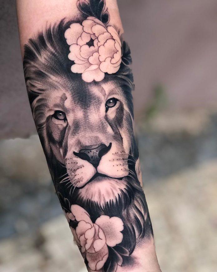 53 Tatouages Lion Pour Femme Tatouez