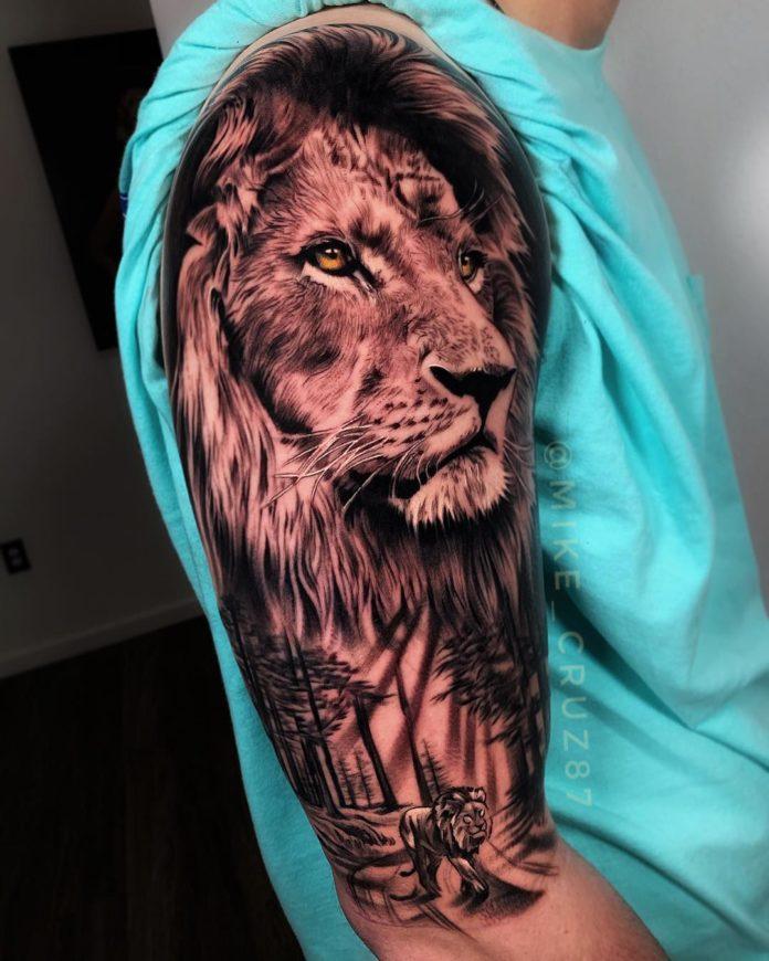 57602914 140479337008239 4513446927439011438 n - Top 100 des Tatouages Lion pour Homme