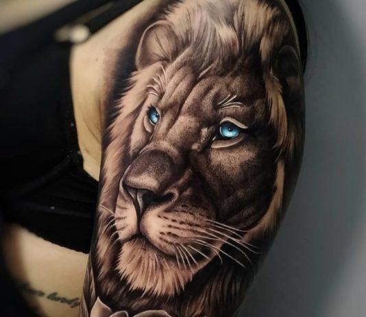 Top 100 de Tatouages Lions pour Femme