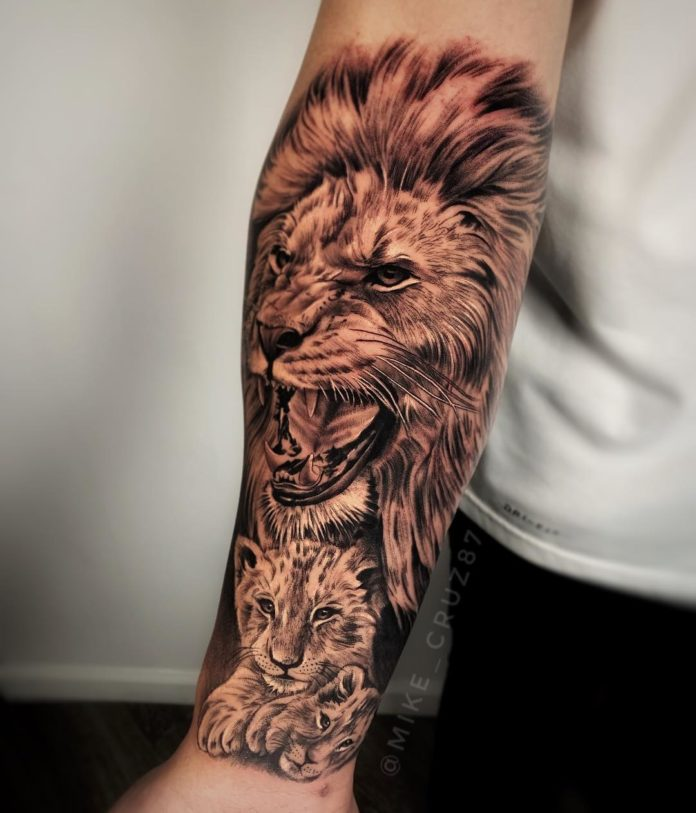 58961836 133905497726801 914859222738587728 n - Top 100 des Tatouages Lion pour Homme