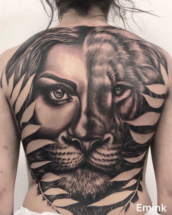 60838418 410530419539838 5368101232092984909 n - 53 Tatouages Lion pour Femme