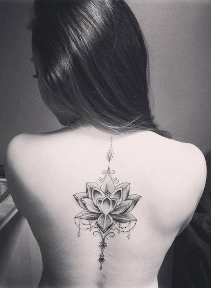 Tatouages dans le dos