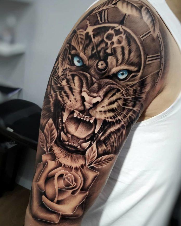 1 - Top 100 Tatouages Tigre pour Homme