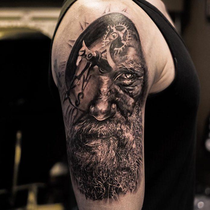 10 6 - 156 Incroyables Tatouages Épaule pour Homme