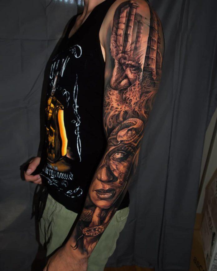 11 7 - 150 Tatouages Bras Complet pour Homme