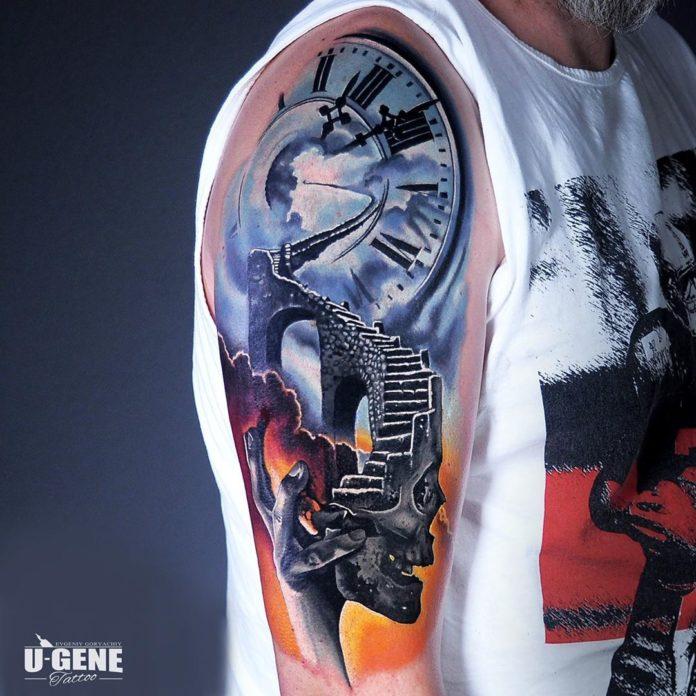 117 - 156 Incroyables Tatouages Épaule pour Homme