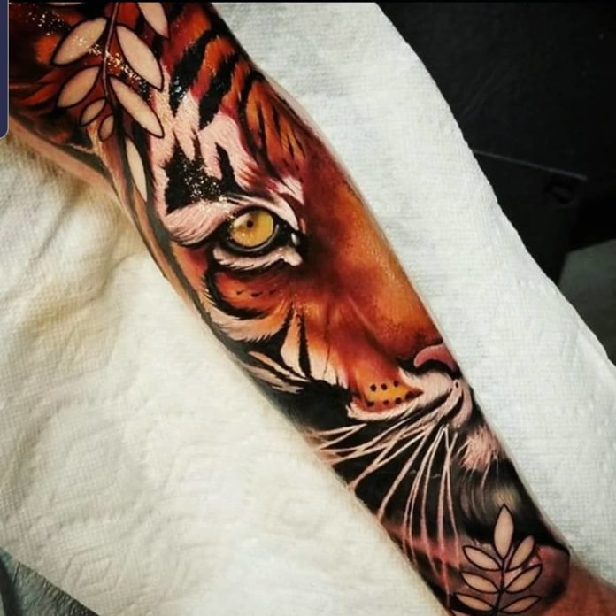 12 - Top 100 Tatouages Tigre pour Homme