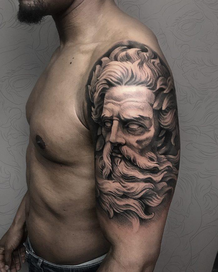 130 - 156 Incroyables Tatouages Épaule pour Homme