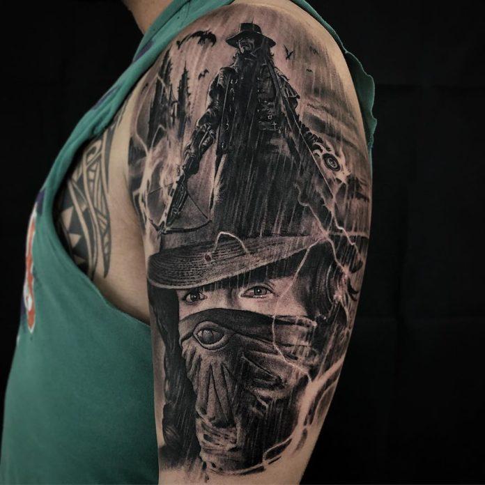 135 - 156 Incroyables Tatouages Épaule pour Homme