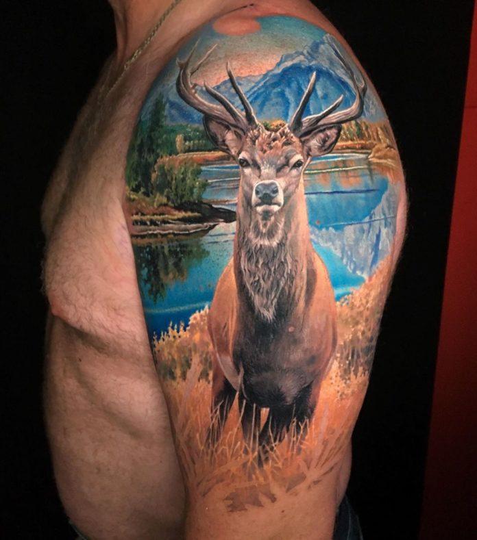 149 - 156 Incroyables Tatouages Épaule pour Homme
