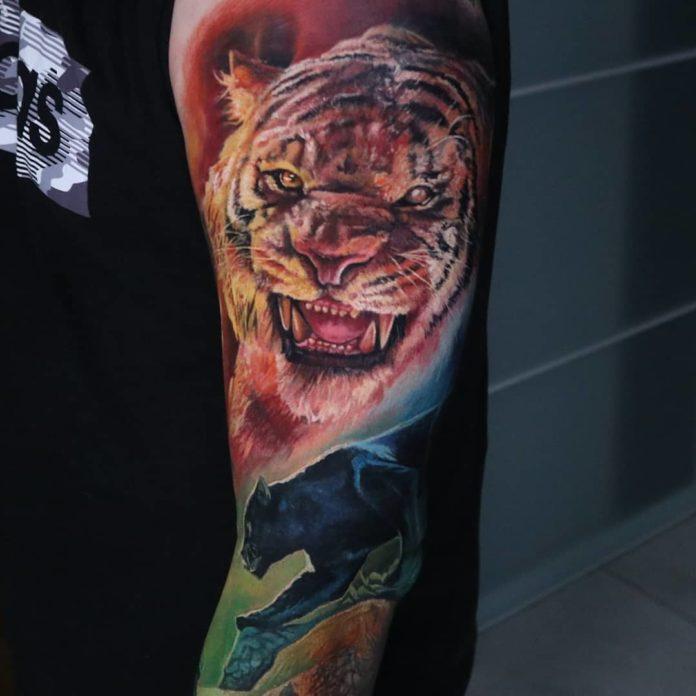 15 - Top 100 Tatouages Tigre pour Homme
