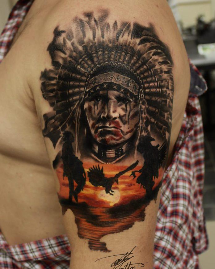 16 5 - 156 Incroyables Tatouages Épaule pour Homme