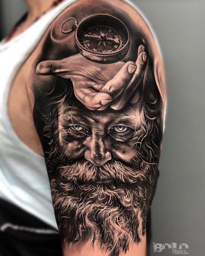 20 5 - 156 Incroyables Tatouages Épaule pour Homme