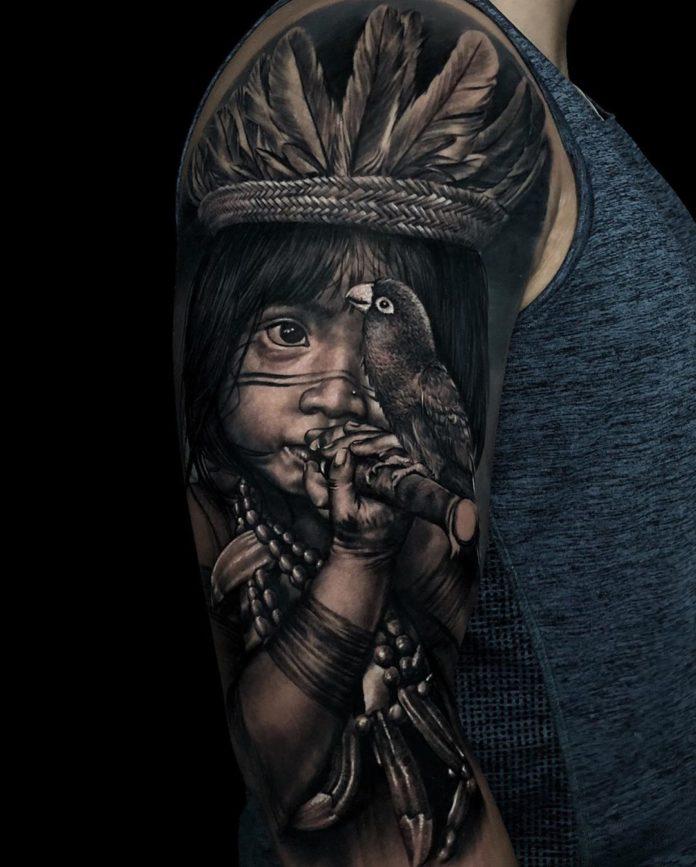 21 6 - 156 Incroyables Tatouages Épaule pour Homme