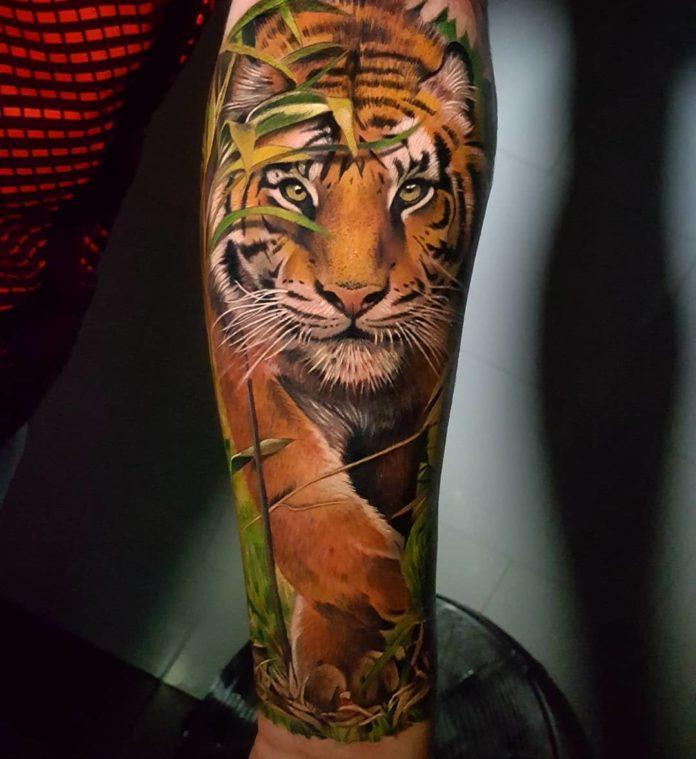 21 - Top 100 Tatouages Tigre pour Homme