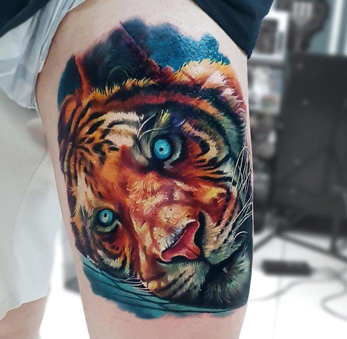 23 - Top 100 Tatouages Tigre pour Homme