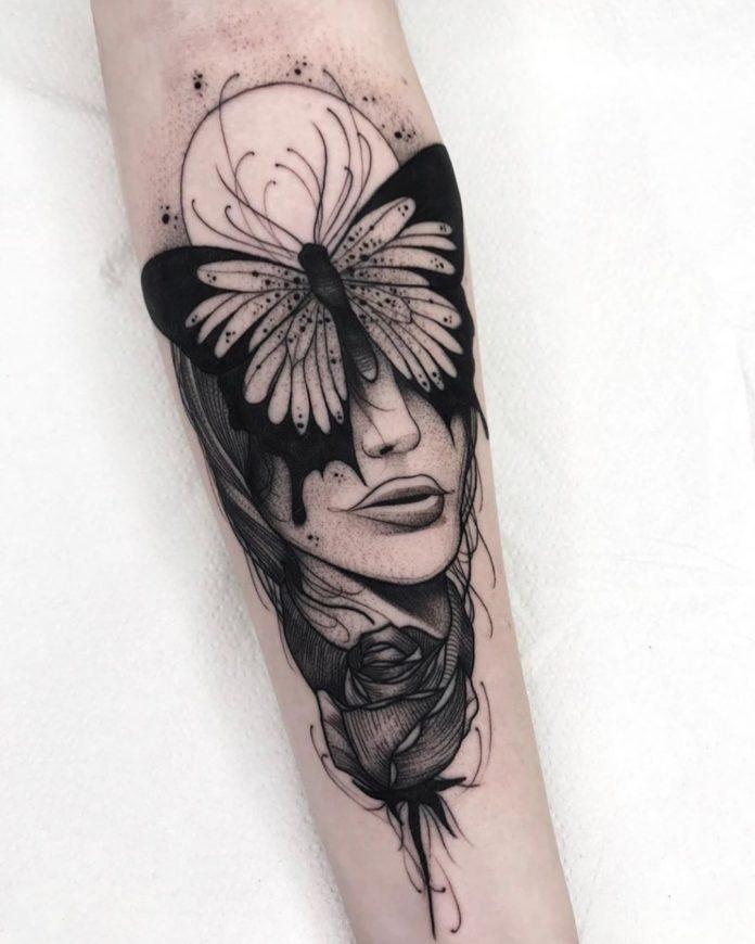 24 2 - 100 Magnifiques Tatouages Avant Bras pour Femme