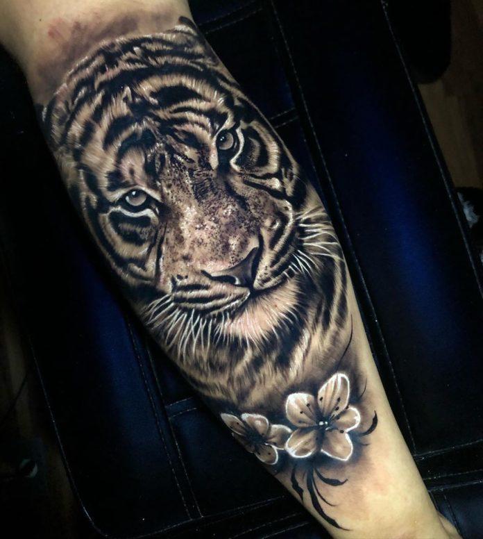 25 - Top 100 Tatouages Tigre pour Homme