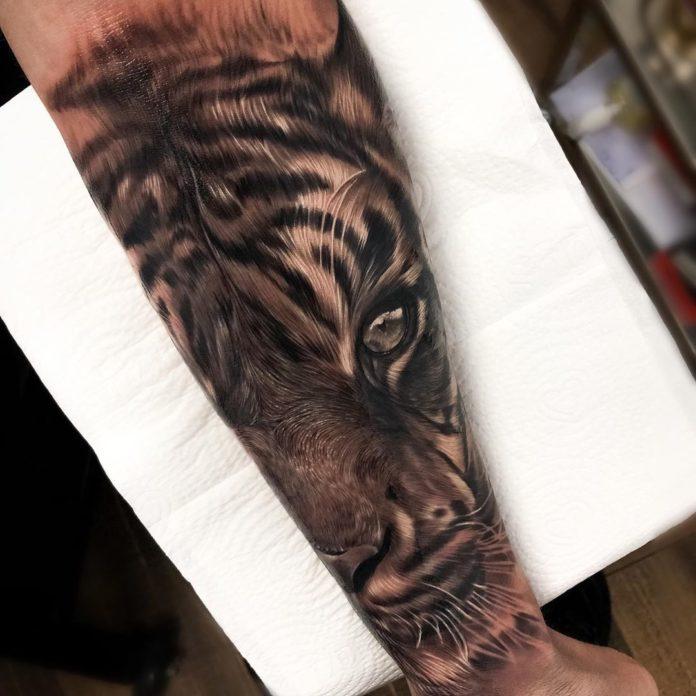 29 - Top 100 Tatouages Tigre pour Homme