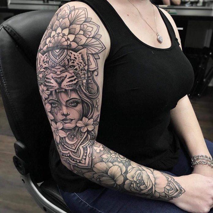 31 11 - Top 100 Tatouages Bras Complet pour Femme