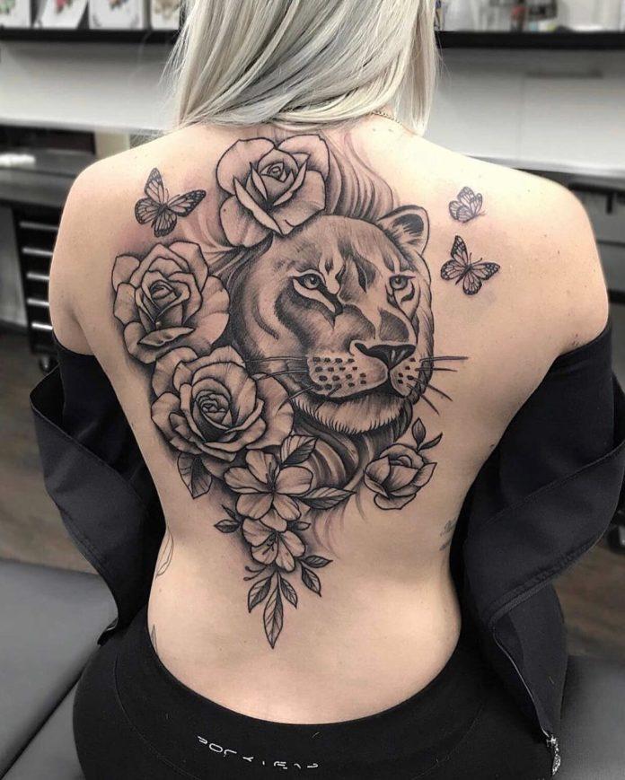33 10 - 100 Magnifiques Tatouages Dos pour Femme