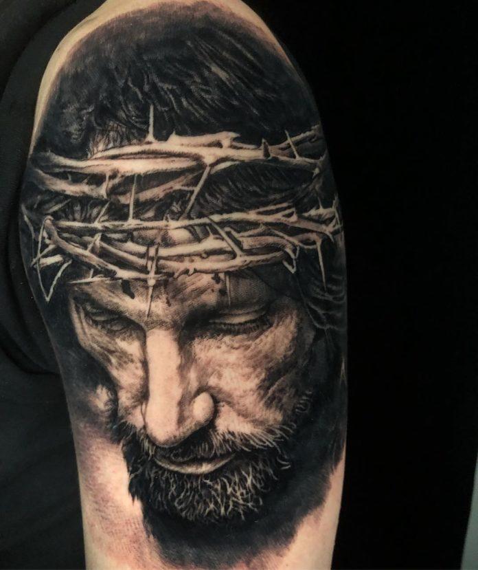 33 6 - 156 Incroyables Tatouages Épaule pour Homme