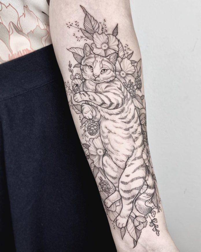 34 3 - 100 Magnifiques Tatouages Avant Bras pour Femme