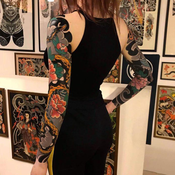 36 13 - Top 100 Tatouages Bras Complet pour Femme