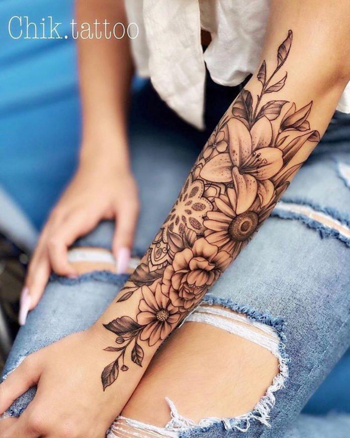 36 5 - 100 Magnifiques Tatouages Avant Bras pour Femme