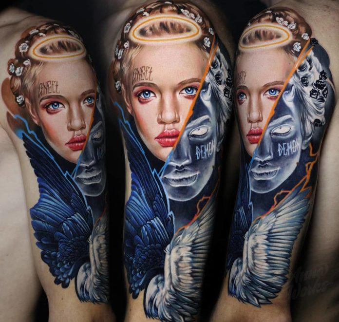 39 7 - 156 Incroyables Tatouages Épaule pour Homme