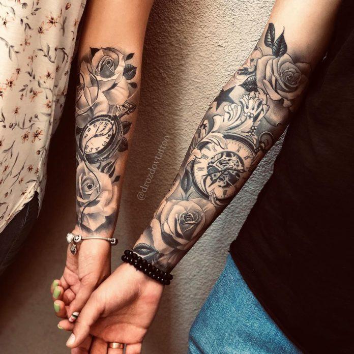 40 3 - 100 Magnifiques Tatouages Avant Bras pour Femme