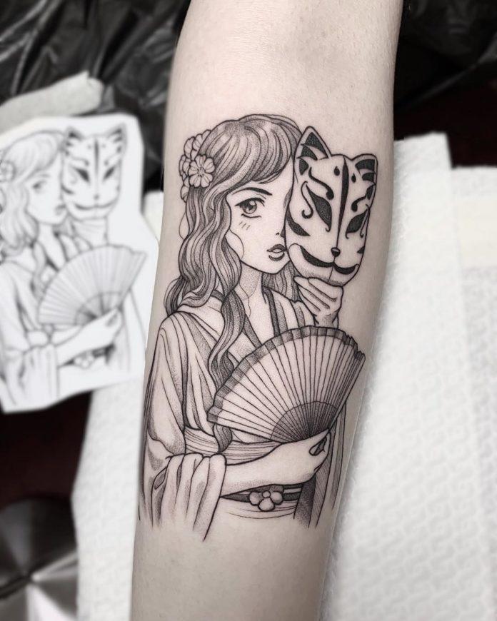 43 3 - 100 Magnifiques Tatouages Avant Bras pour Femme