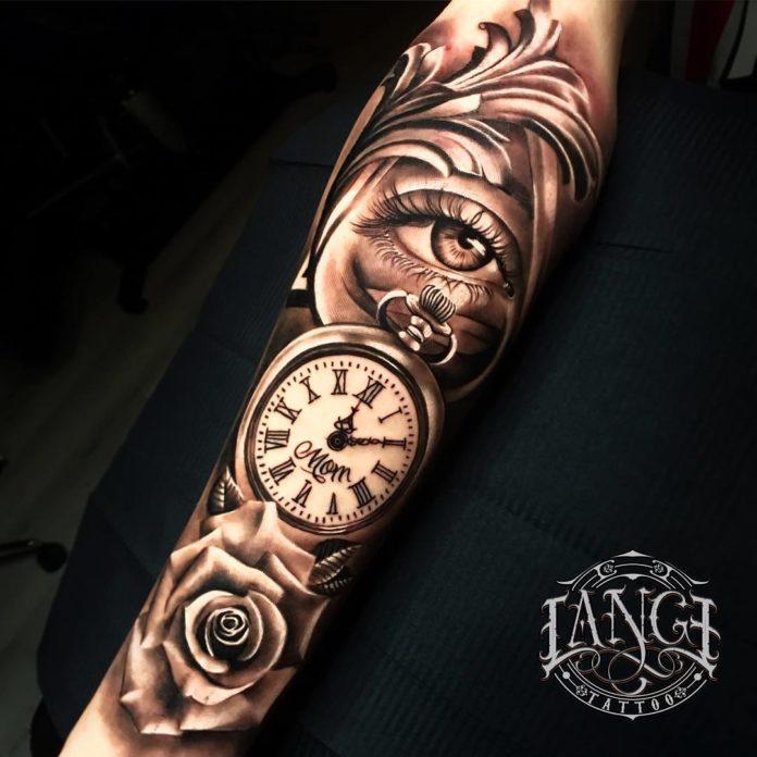 44544797 1948964931881261 294291037763793318 n - 100 Tatouages d'Horloge pour Homme