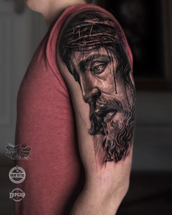 45 6 - 156 Incroyables Tatouages Épaule pour Homme