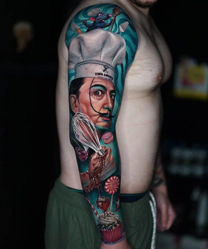 46 7 - 150 Tatouages Bras Complet pour Homme
