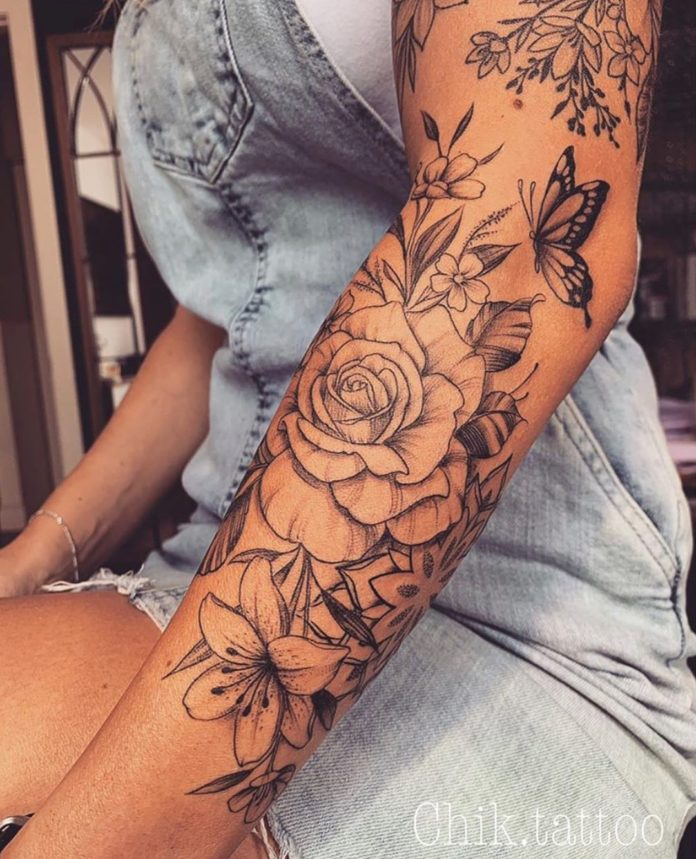 49 4 - 100 Magnifiques Tatouages Avant Bras pour Femme