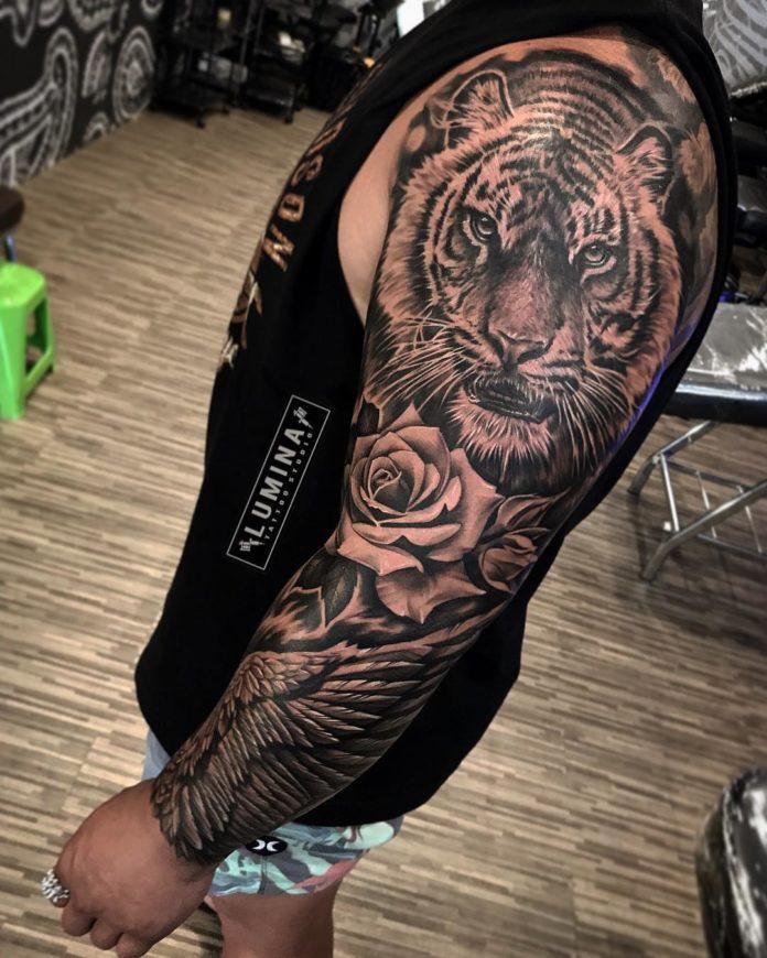 50 - Top 100 Tatouages Tigre pour Homme