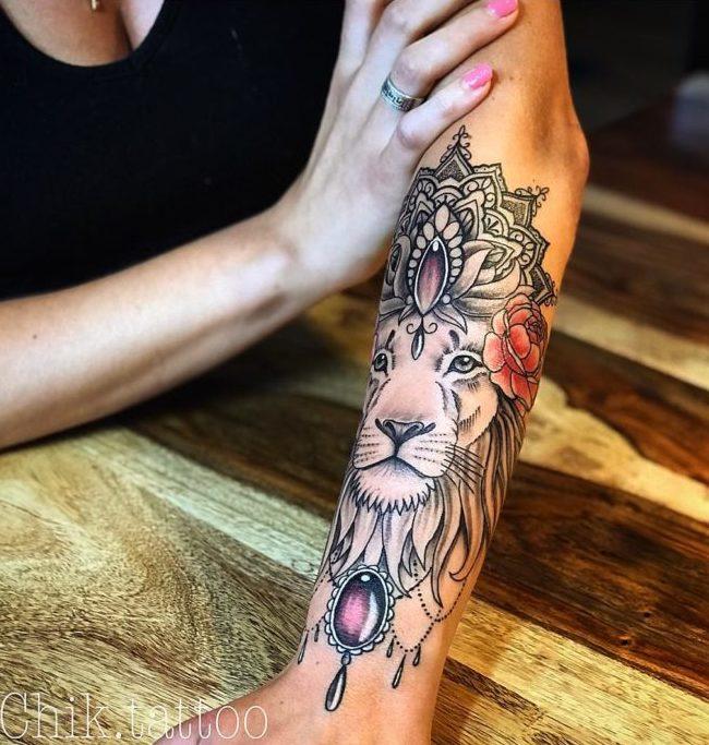 55 3 e1572145802261 - 100 Magnifiques Tatouages Avant Bras pour Femme